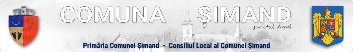COMUNA ȘIMAND – JUDEȚUL ARAD